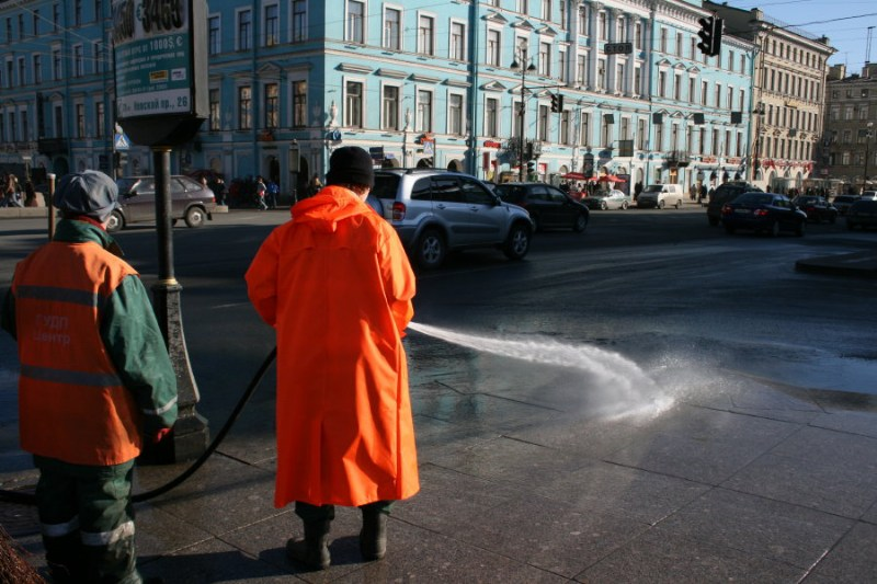 фото альбом Санкт Петербург Утро на Невском