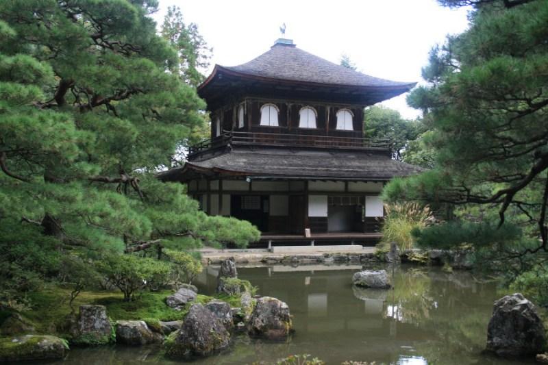 фото альбом Япония Серебрянный храм в Киото