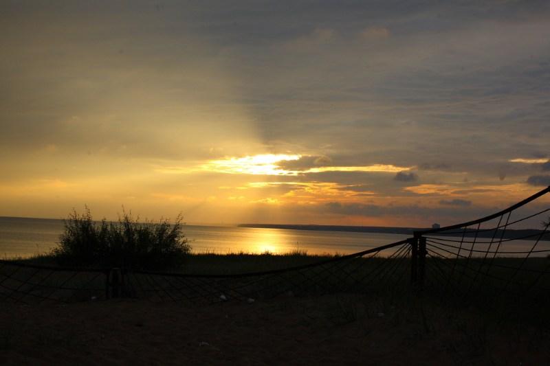 фото альбом Санкт Петербург Закат на Финском заливе
