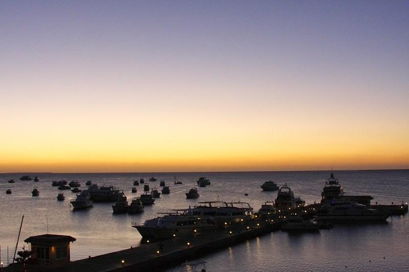 фото альбом Египет Красное море. Восход.