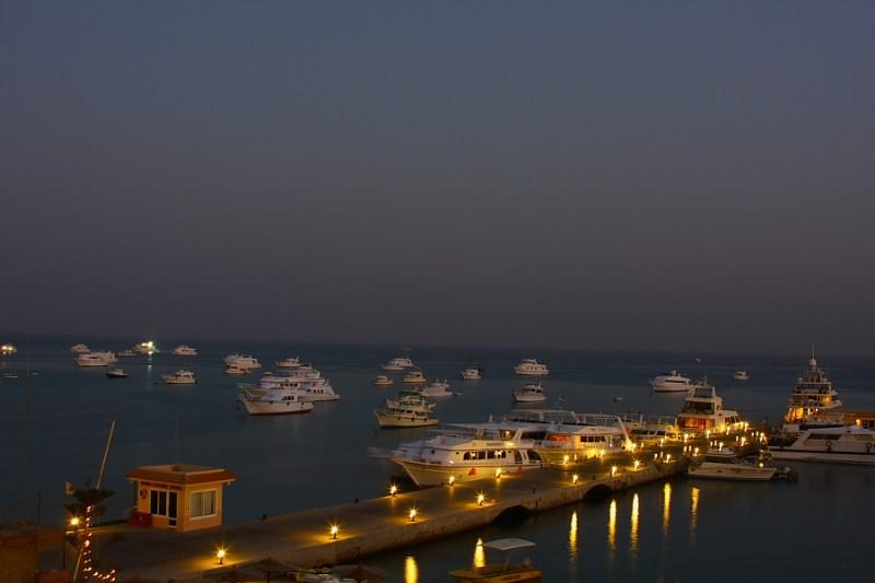 фото альбом Египет Красное море. Вечер