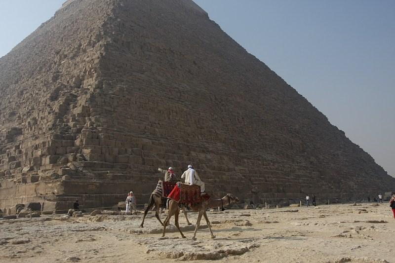 фотографии альбом Египет Экскурсия на верблюдах