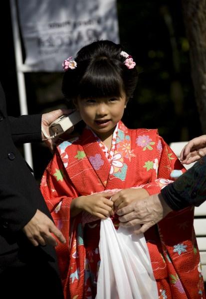 фото альбом Япония Девочка в кимоно