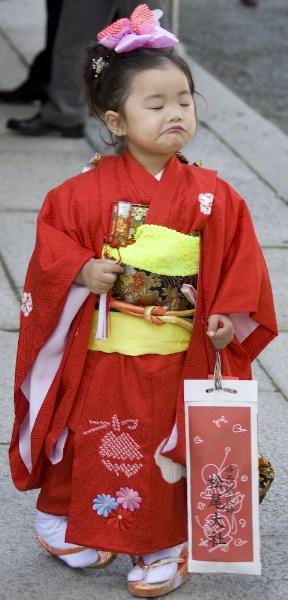 фотографии альбом Япония Девочка в кимоно