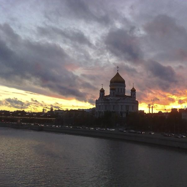 фото альбом Москва Закат