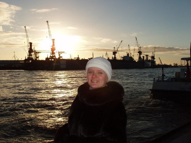 фото альбом Гуляем по Гамбургу На реке Эльбе