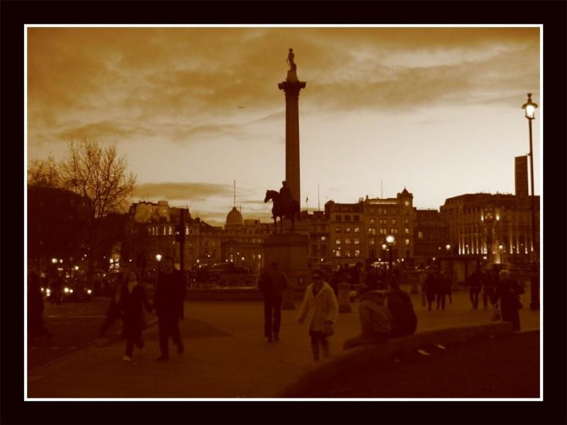 фотографии альбом Европа - Random London Trafalgar square