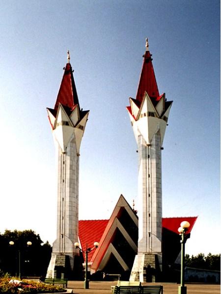 фото альбом Mosques - Мечети мира Современная мечеть Ля-ля Тюльпан, Уфа