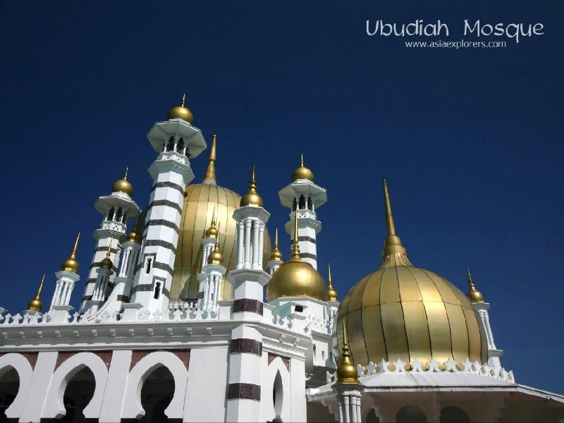 фотографии альбом Mosques - Мечети мира Ubudiah Mosque, Kuala Kangsar