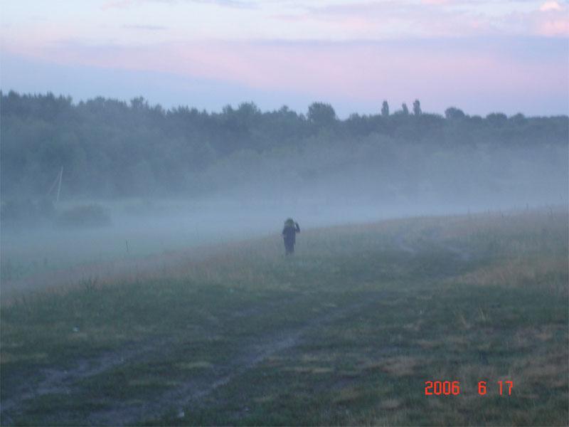 фотографии альбом Река Сиверский Донец идеальна для путешествия на байдарках Андрюша в тумане