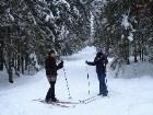 фото - на даче - Рождество на лыжах...