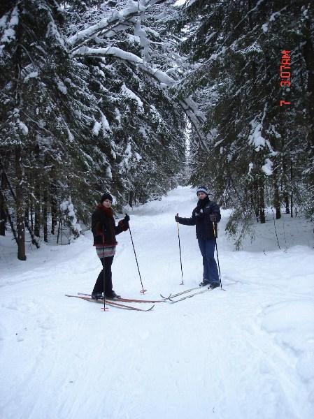фото альбом Рождество на лыжах... на даче