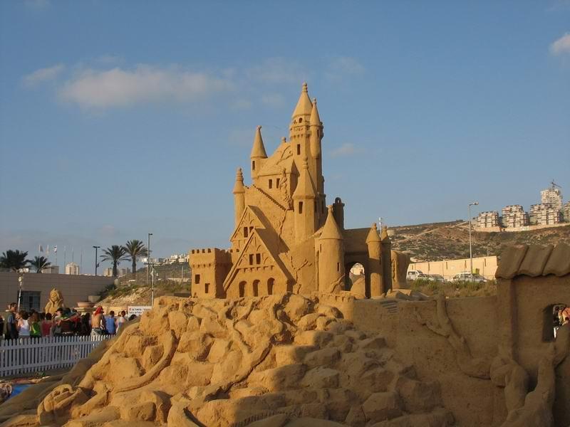 фото альбом Скульптуры из песка Что можно сделать из песка