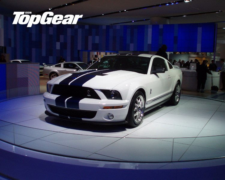 фото альбом Top gear -- мото Ford Shelby Mustang GT500