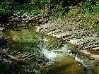 фото - первый из водопадов, ... - Вело-мото - Манявский водопад