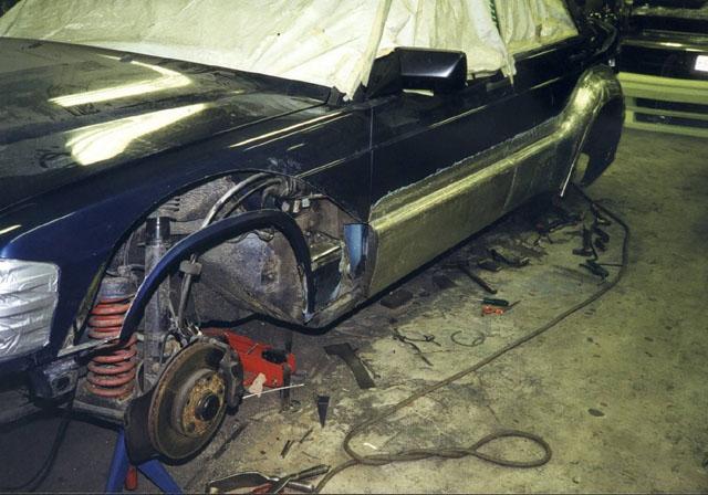 фото альбом Mercedes 190 Evo 3