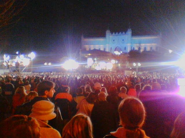 фото альбом Msza na placu Zamkowym w Lublinie 2 kwietnia - Lublin