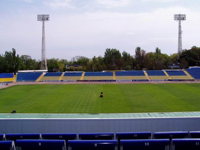 фотографии альбом Стадионы мира Центральный стадион Черноморец