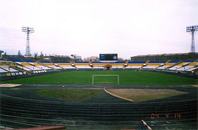 фото альбом Стадионы мира Стадион Зари Луганск