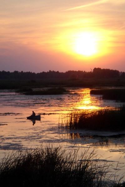 фотографии альбом Environment & Nature Закат на Днепре