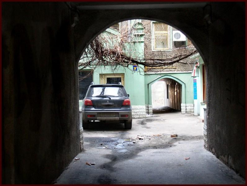 фото альбом Киев - Подол Тесный дворик.