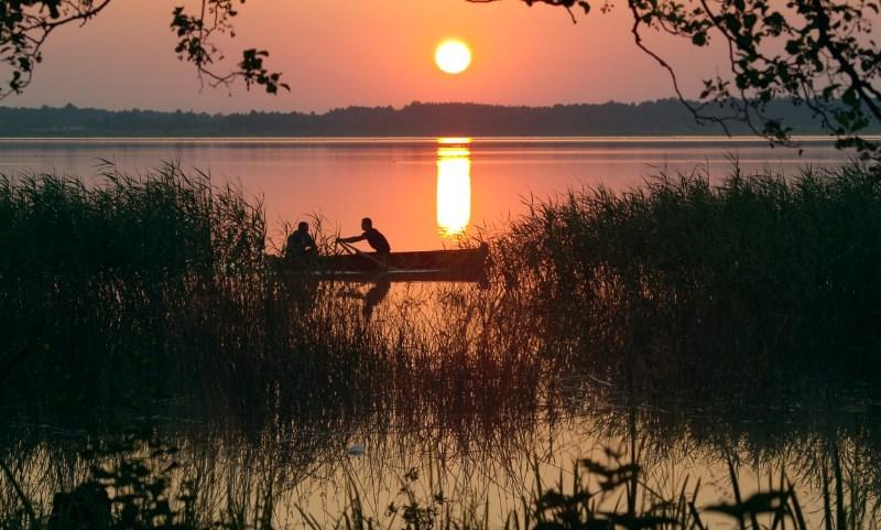 фото альбом Леса, озера - Природа На рассвете.