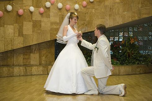 фото альбом Свадьба - Первый супружеский танец фото Карабана (без обработки)