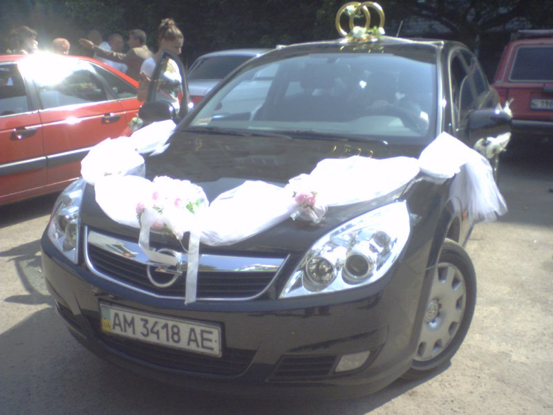 фото альбом Праздники - Наша свадьба Наше авто!