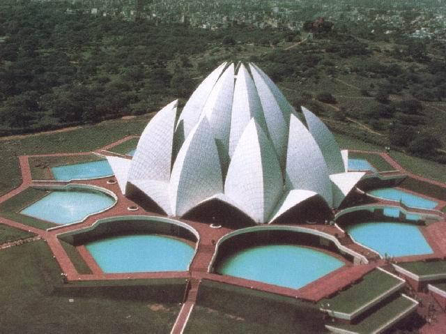фото альбом Храмы Бахаи - в народе их зовут храмами религий Лотос