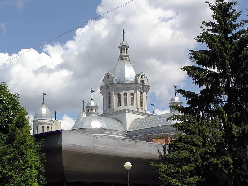 фото альбом Храмы Львова Церковь Св. Владимира