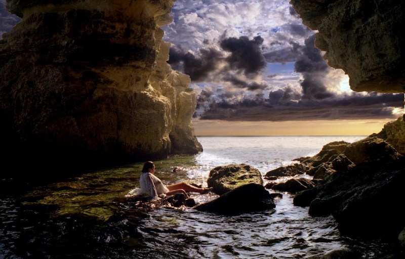 фото альбом Горы, море - Крым Типа грот