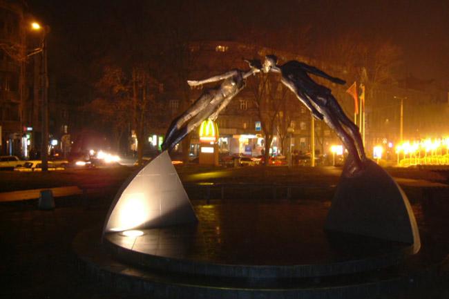 фотографии альбом Украина - Харьков, ты такой разный Харьков,ночь,любовь