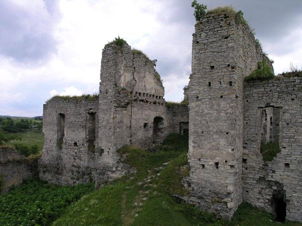 фото альбом Украина - Cкала-Подольская, Тернопольская область Руины дворца.