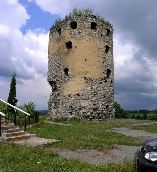 фото альбом Украина - Cкала-Подольская, Тернопольская область Пороховая башня.