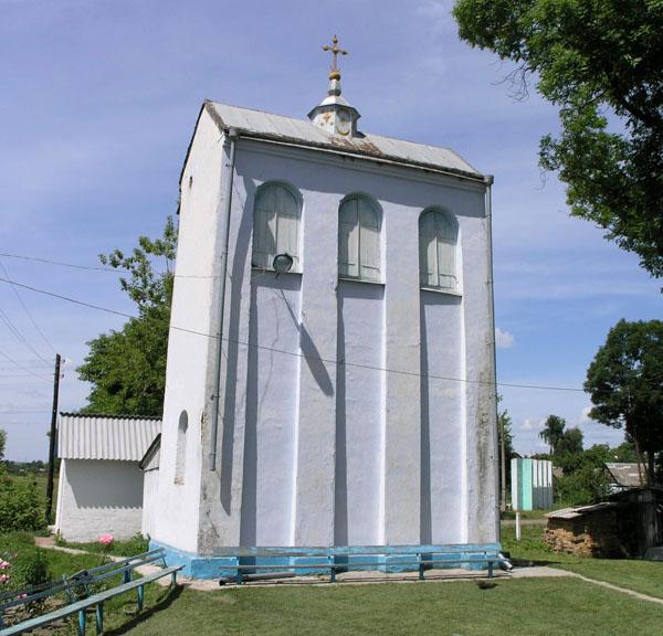 фото альбом Украина - Гоща, Ровенская область Колоколня Михайловкой церкви.