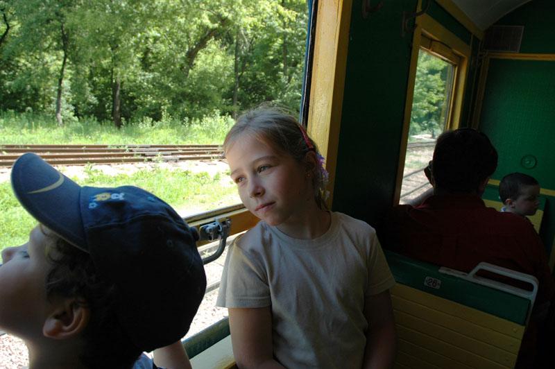 фото альбом Детская жд поезда, дети