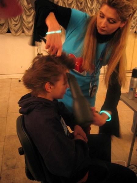 фото альбом Праздники - 02.2005 зачіски в стилі djuce для шкета