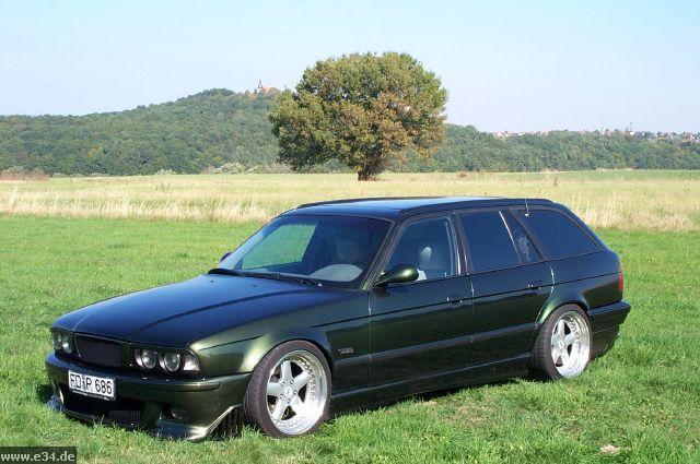 фото альбом BMW E34 Touring. Тюнинг Варианты тюнинга туринга