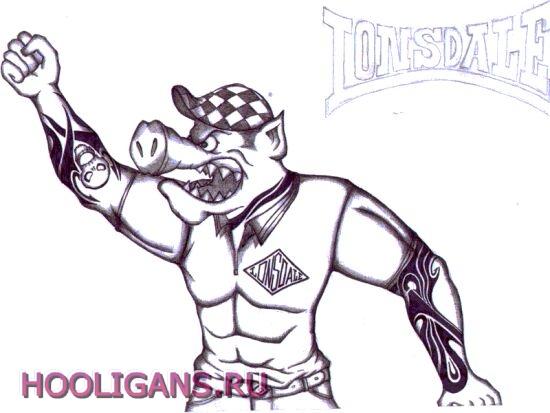 фото альбом Holligans Малюнки та фото пов/язані з футбольними фанатами