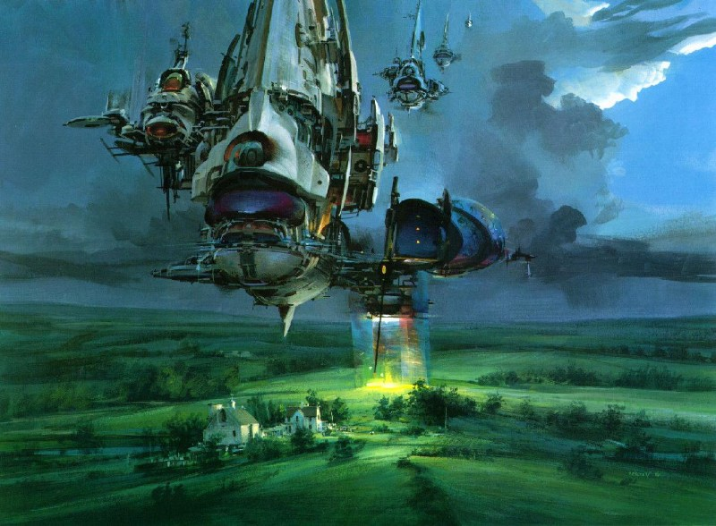 фото альбом Рисунки - Fantasy космическое