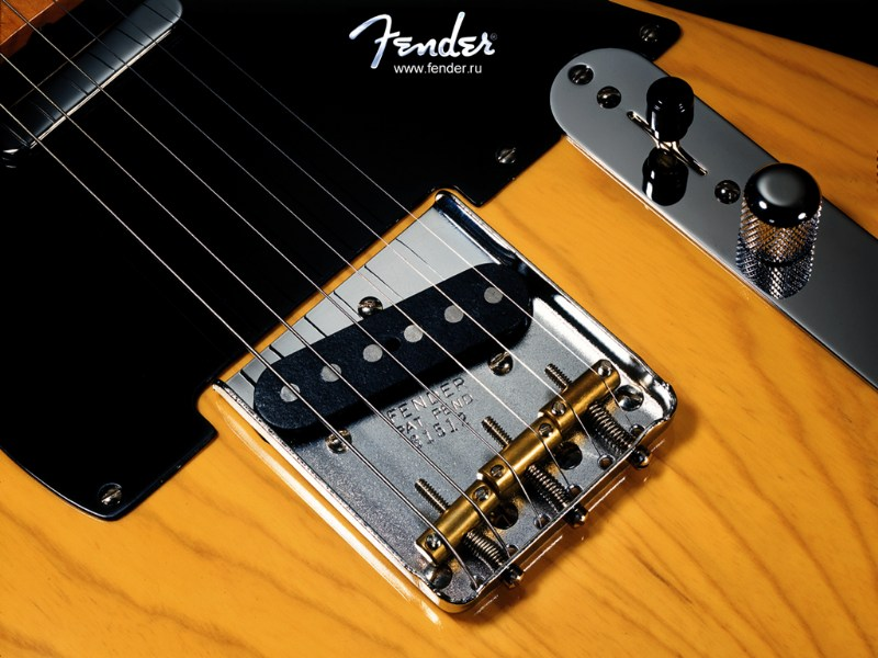 фото альбом Wallpapers For Guitarists Fender Telecaster `52