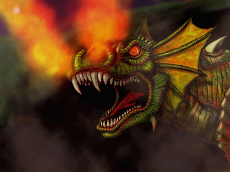 фото альбом Рисунки - Фэнтези Драконы