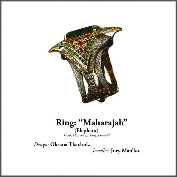 """фотографии альбом Jewellery. Ювелирные изделия. Дизайн Оксана Ткачук. Ювелиры маст """"Магараджа""""(Слоны) золото брилианты рубины"""