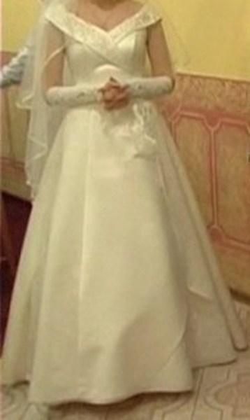 """фото альбом Свадебное платье """"шестиклинка"""" Общий вид платья"""