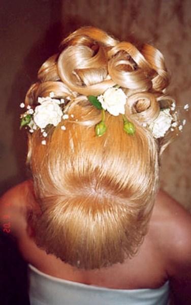 фотографии альбом Свадьба - Свадебные прически