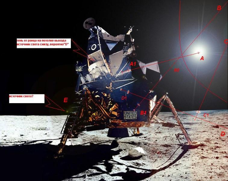 фото альбом Новости космонавтики схема освещения