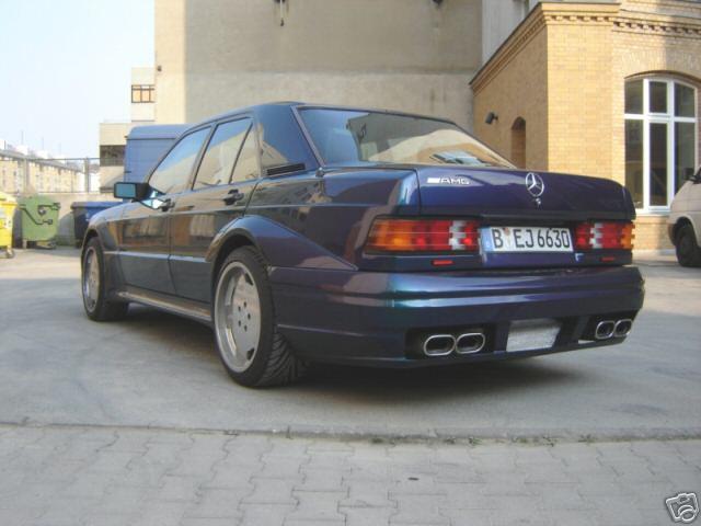 Фотографии мерсов (1980-1998) 190E 4.2