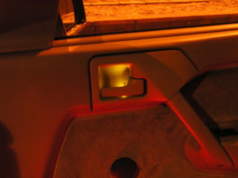 фото альбом Подсветка авто на светодиодах подсветка ручки открывания двери