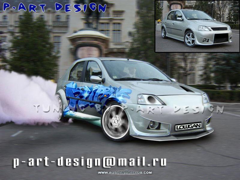 фото альбом Renault logan tuning