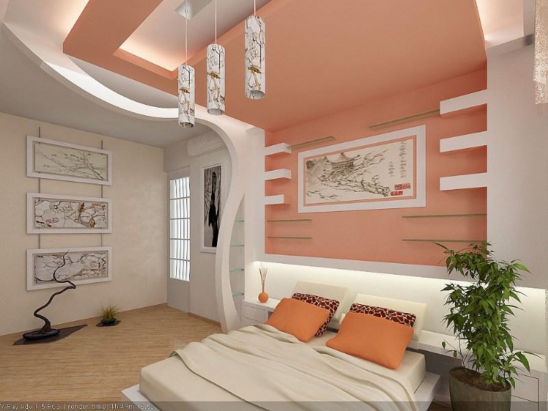 фото альбом Дизайн интерьера Детская комната , спальня , восточный стиль , персиковый дизайн интерьера Инна Ващенко